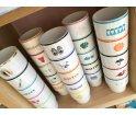 Kubek porcelanowy 'Wakacje' Mamsam - edycja limitowana