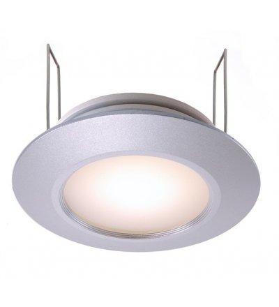 Lampa sufitowa łazienkowa LED Deko-Light - srebrna, 3W, IP44