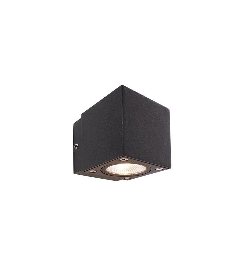 Kinkiet zewnętrzny Cubodo II SINGLE MINI LED Deko-Light - ciemnoszary