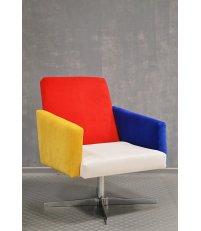 Fotel NO,1 INSP. DE STIJL Happy Barok - wielokolorowy