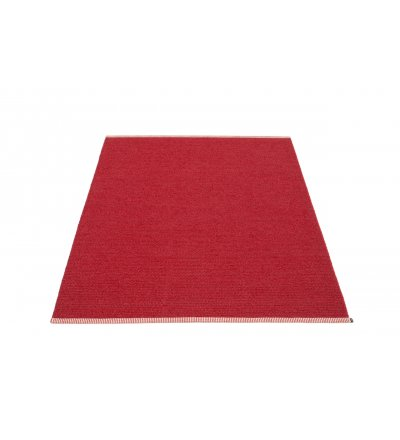 Dywan MONO Pappelina - dark red / red, różne rozmiary