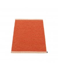 Chodnik MONO Pappelina - pale orange / coral red, różne rozmiary