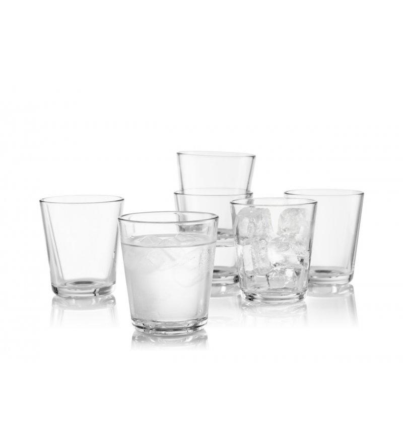 Zestaw szklanek 250ml Eva Solo - 6 szt., transparentne szkło