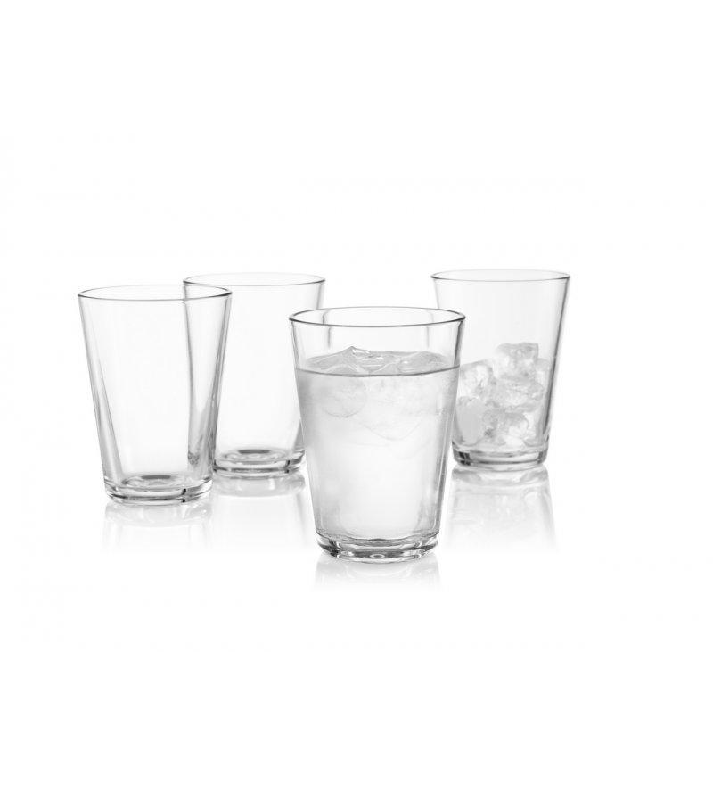 Zestaw szklanek 380ml Eva Solo - 4 szt., transparentne szkło