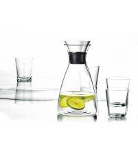 Zestaw karafka 1,0l i 4 szklanki 250ml Eva Solo - transparentne szkło