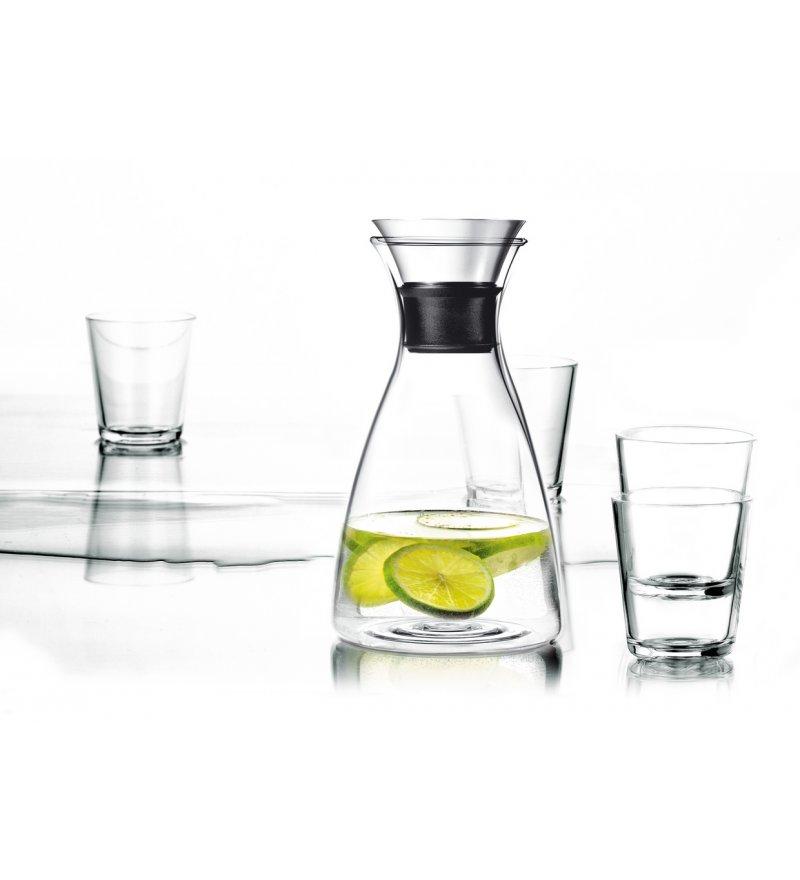 Zestaw: karafka 1,0l i 4 szklanki 250ml Eva Solo - transparentne szkło