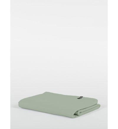 Prześcieradło Pure HOP DESIGN czysta bawełna płótno jasnozielone