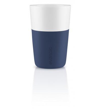 Filiżanka 360 ml Eva Solo - navy blue, 2 szt.