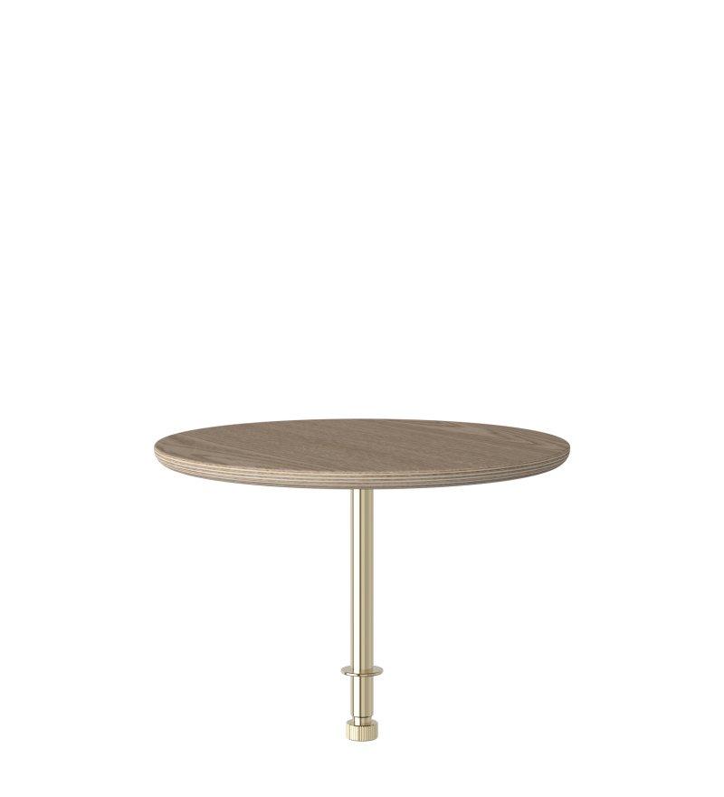 Stolik kawowy Round do sofy Lounge Around UMAGE - oak