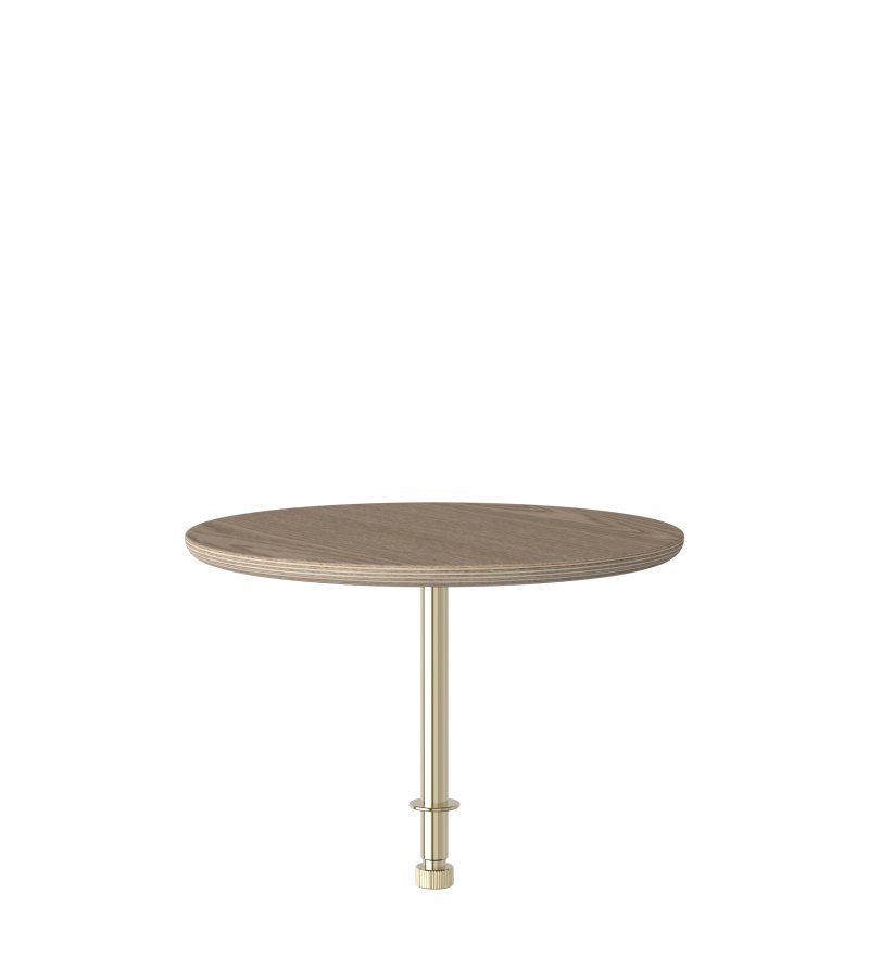 Stolik kawowy Round do sofy  'Lounge Around' - oak
