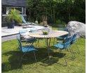 Krzesło CLICK Dining Chair z podłokietnikami HOUE - różne kolory, na zewnątrz