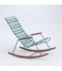 Krzesło bujane CLICK Rocking Chair HOUE - różne kolory, na zewnątrz