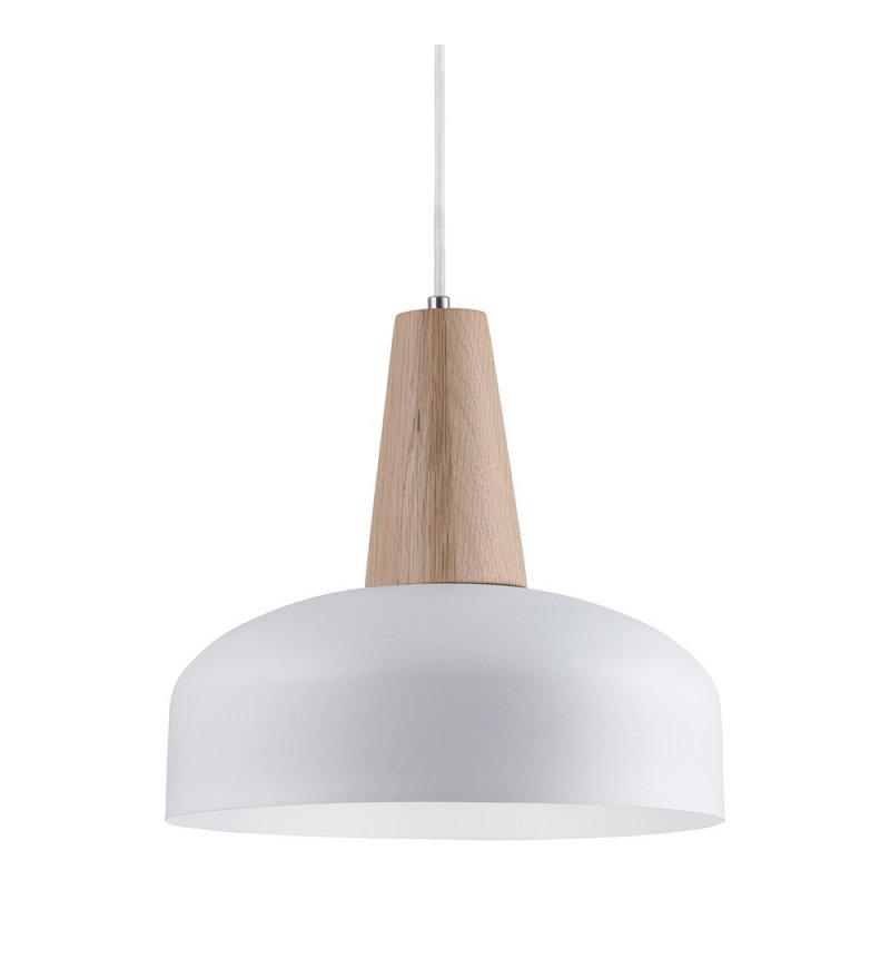 Lampa Timber Loft You - 33 cm, biało-złota