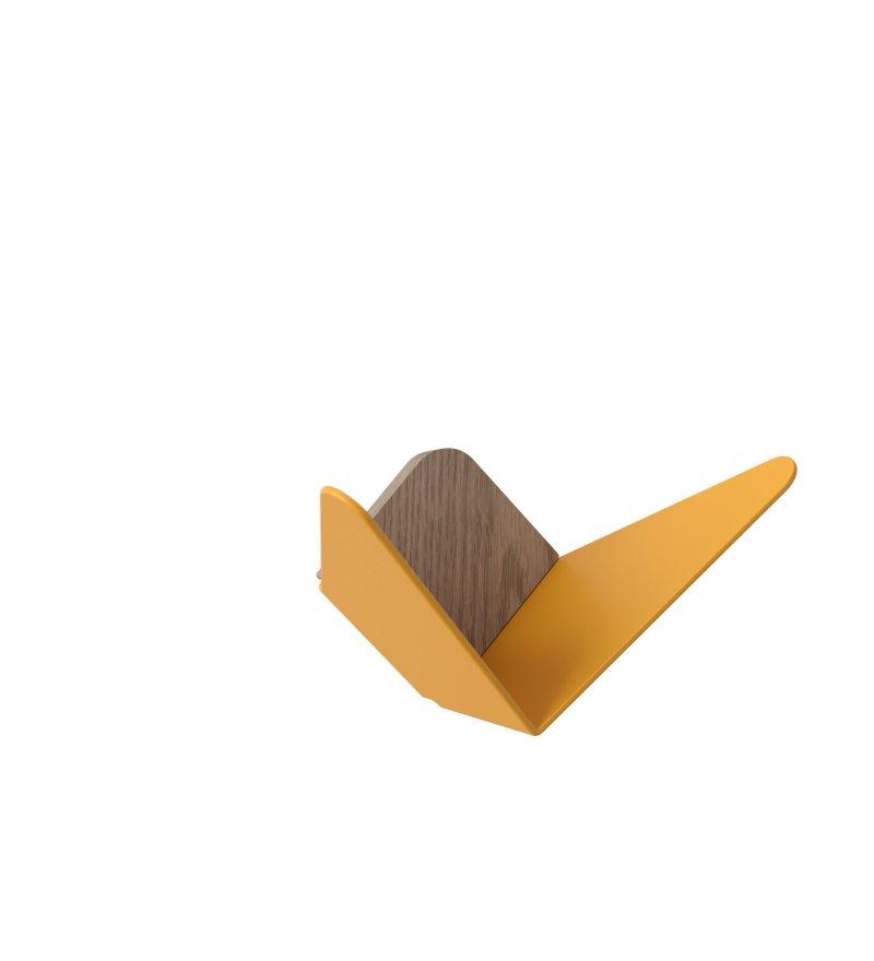 Wieszak Butterflies mini UMAGE - żółty