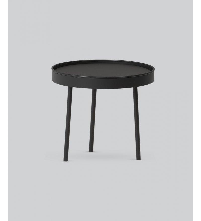Stolik kawowy Stilk Northern -  czarny, 9 rozmiarów