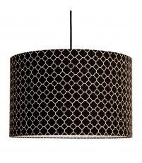 Lampa sufitowa koniczyna marokańska mała Young Deco - czarna
