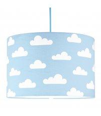 Lampa sufitowa chmurki Young Deco - na błękitnym