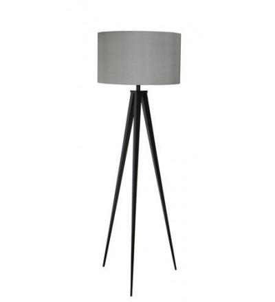 Lampa podłogowa Tripod czarno-szara Zuiver