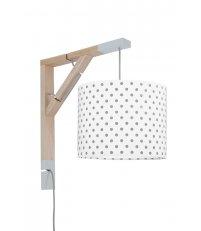 Lampa Simple grochy Young Deco - różne kolory