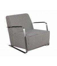 Fotel tapicerowany Adwin pepita Zuiver