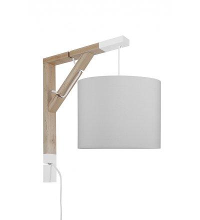 Lampa Simple Czysta szarość Young Deco - szara