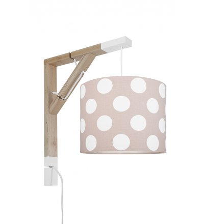 Lampa Simple grochy Young Deco - 3 kolory