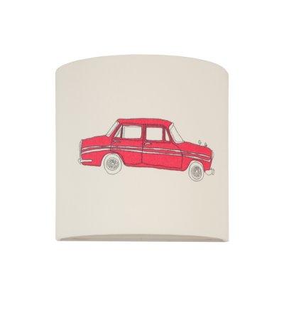 Kinkiet Auta Young Deco - czerwone auto