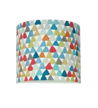 Kinkiet kolorowe trójkąciki Young Deco - wielokolorowy