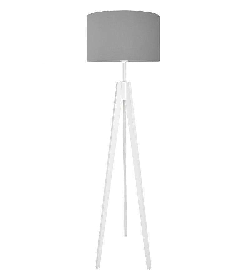Lampa podłogowa Czysta szarość Young Deco - szara