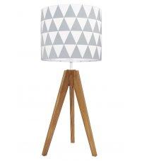 Lampa na stolik trójkąty Young Deco - różne kolory