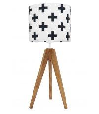Lampa na stolik krzyżyki Young Deco - różne kolory