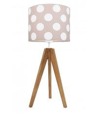 Lampa na stolik pastelowe grochy Young Deco - 3 kolory