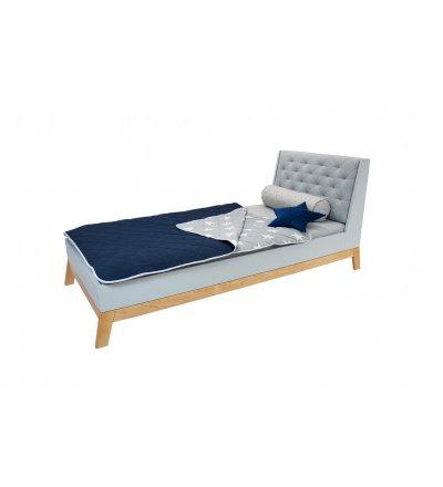 Zagłówek tapicerowany do łóżka Scandi Junior Young Deco - różne kolory