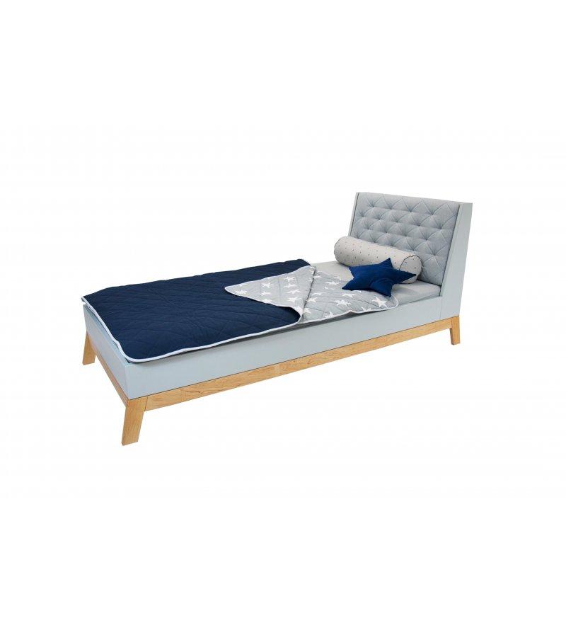 Zagłówek Tapicerowany Do łóżka Scandi Junior Young Deco Różne Kolory Pufa Design