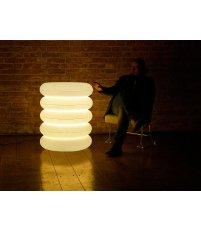 Lampa stojąca podwójna Big Puff wewnętrzna - PUFF-BUFF Design