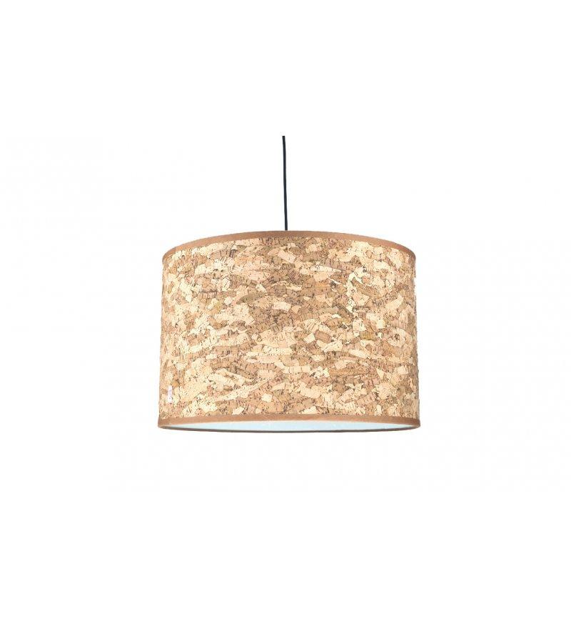 Abażur Do Lampy Stojącej Wiszącej Cork Innermost 46 X 30 Cm Naturalny Pufa Design