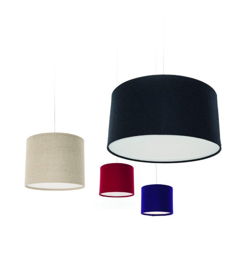 Abażur Do Lampy Stojącej Wiszącej Kobe Innermost 26 X 32 Cm Poliestrowy Różne Kolory Pufa Design