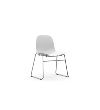 Krzesło FORM CHAIR STACKING CHROME Normann Copenhagen - różne kolory, do sztaplowania