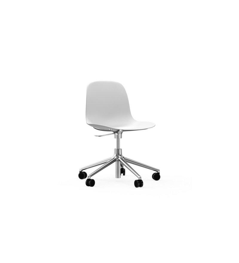 Krzesło FORM CHAIR SWIVEL 5W Gaslift Alu Normann Copenhagen - różne kolory
