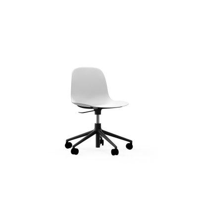 Krzesło FORM CHAIR SWIVEL 5W Gaslift Black Alu Normann Copenhagen - różne kolory