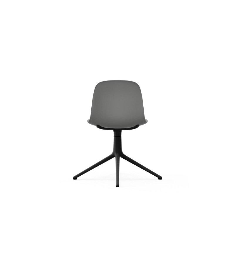 Krzesło FORM CHAIR SWIVEL 4L Black Alu Normann Copenhagen