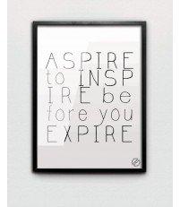 Plakat ASPIRE MM House Design - różne rozmiary