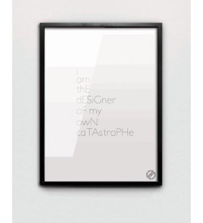 Plakat DESIGNER MM House Design - różne rozmiary