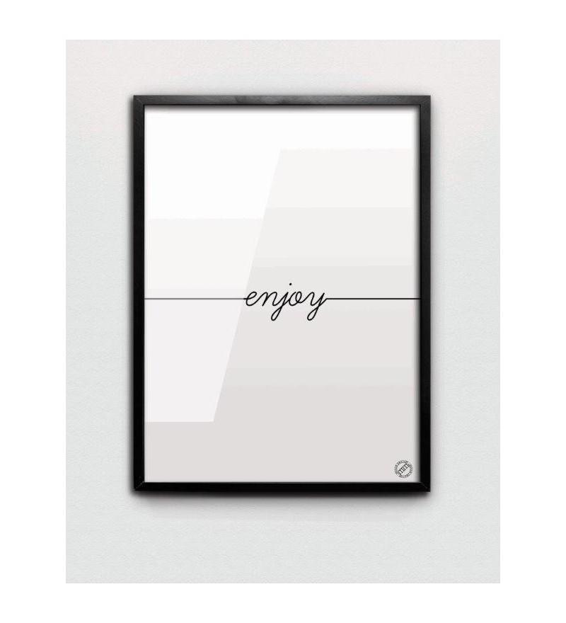 Plakat ENJOY MM House Design - różne rozmiary