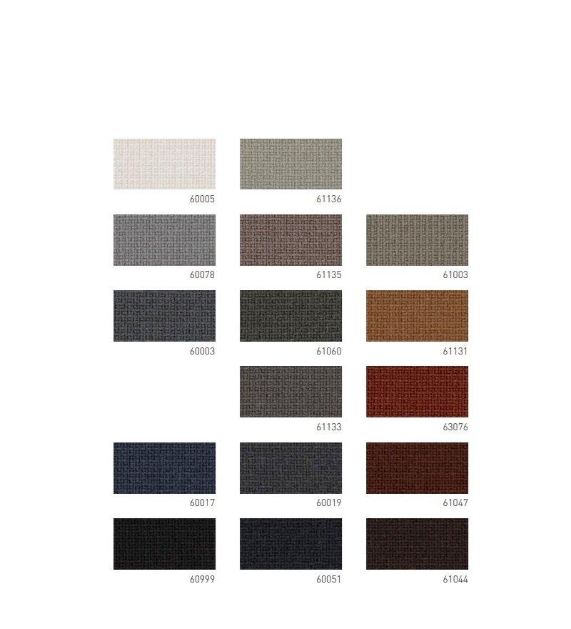 Sofa bujana tapicerowana ERA ROCKING SOFA Normann Copenhagen - na chromowanej podstawie, różne kolory siedziska