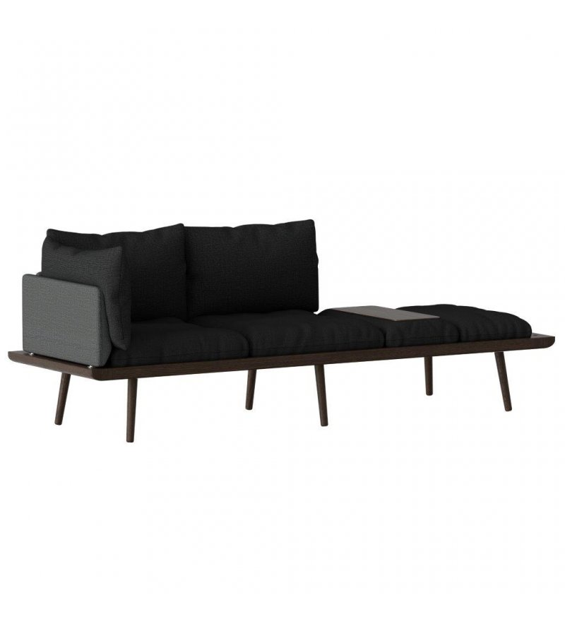 Sofa 3-osobowa Lounge Around UMAGE - dark oak
