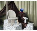 Fotel tapicerowany ACE LOUNGE CHAIR Normann Copenhagen - różne kolory tapicerki, 3 kolory drewnianych nóg