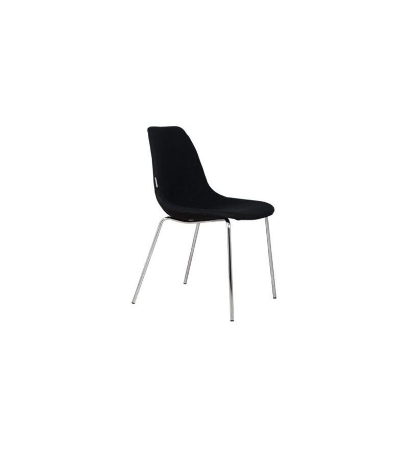 Zuiver krzesło Fifteen Chrome black