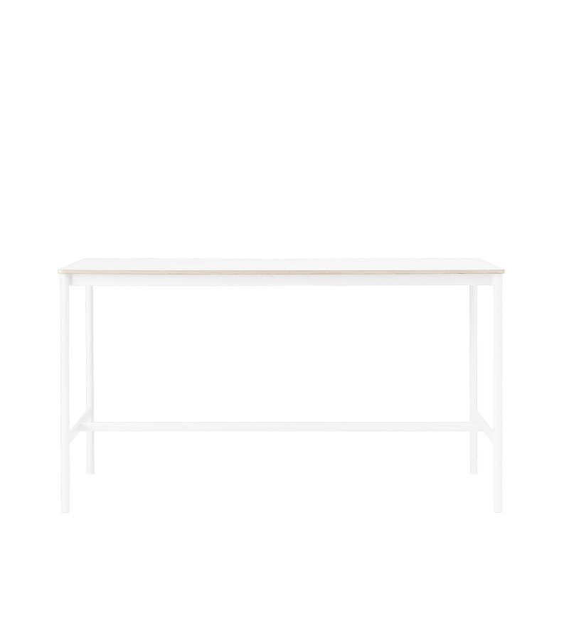 Stół BASE HIGH TABLE 190 x 85 cm MUUTO - wysokość 105 cm, różne kolory/sklejka
