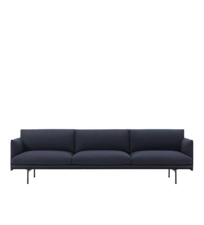 Sofa 3,5-osobowa OUTLINE MUUTO - różne kolory